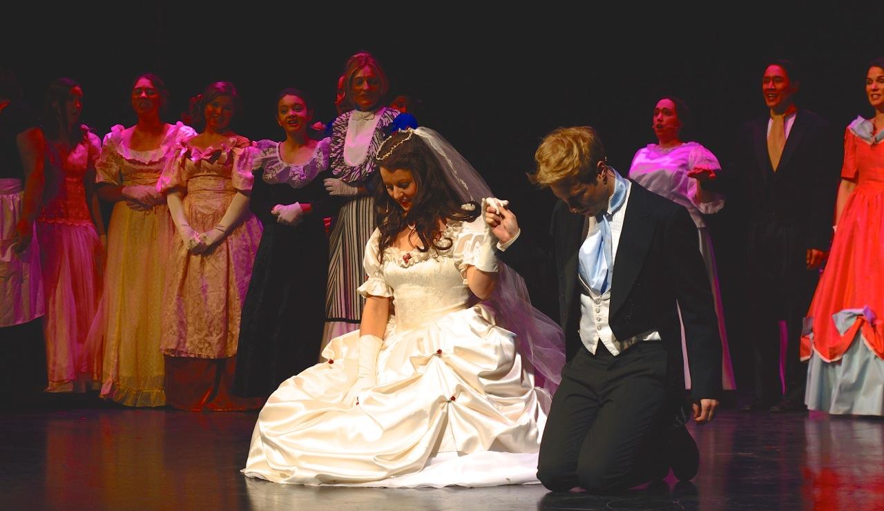 LesMis wedding scene