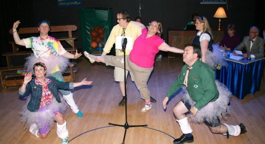 Spelling Bee dance