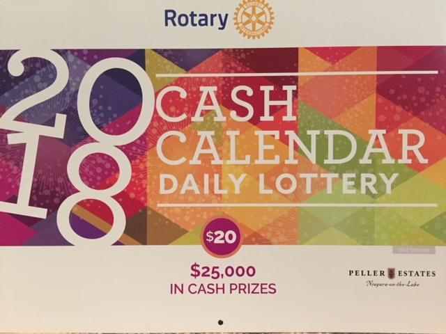 Cash Calendar Fundraiser