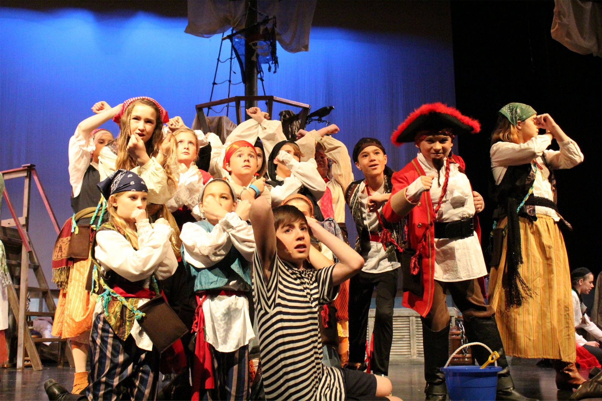 Become a Pirate cast