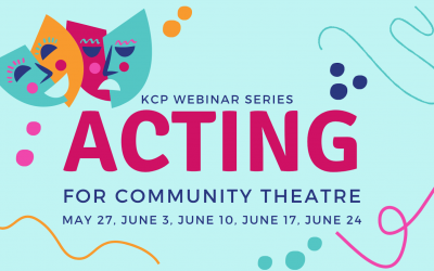 Webinar Series: Acting for Community Theatre